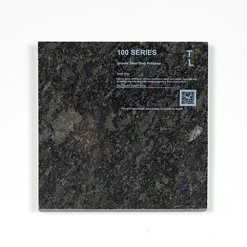 100 Granite Steel Grey Polished