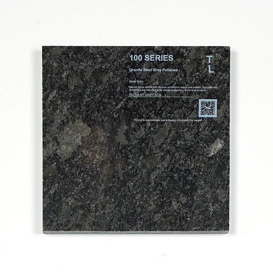 100 Granite Steel Grey Polished