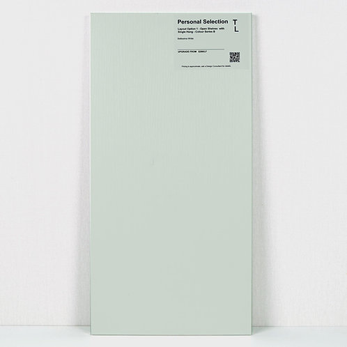 Closet Cabinetry Belissima White