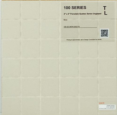 "100-300 shower floor porcelain Quebec unglazed bone 2"" x 2"""