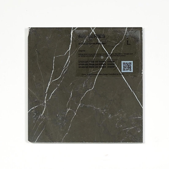 400 Marble Graphite Polished