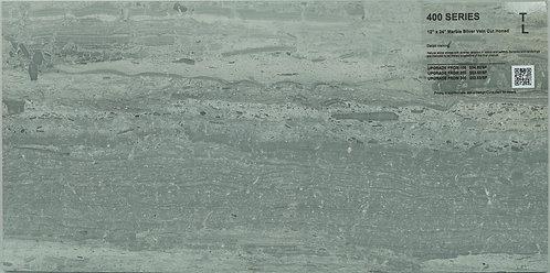 "400 Marble silver vien cut honed 12""x 24"""