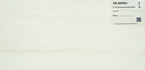"100 Porcelain beaubridge glazed navajo beige 12""x24"""