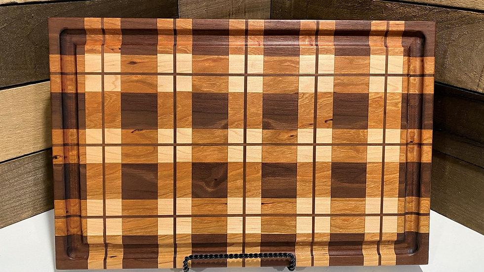 "1 3/4"" thick Plaid Board"