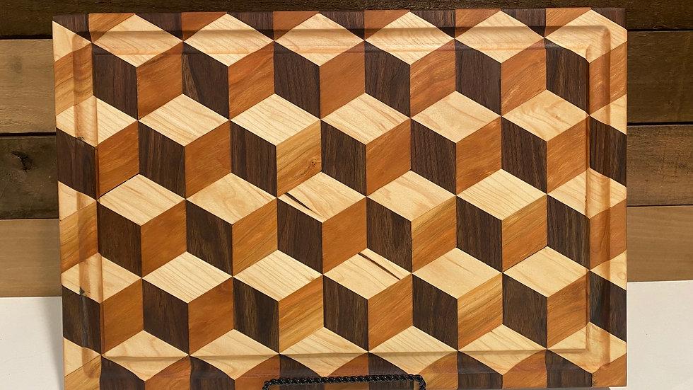 "1 3/4"" thick 3D Rhombus Board"