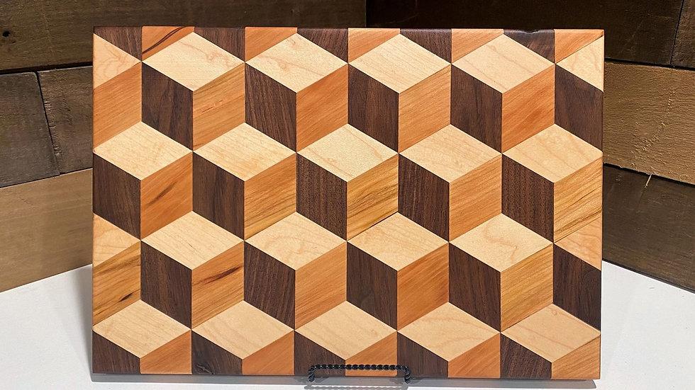 3D Rhombus Cube