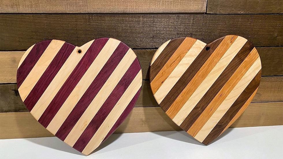 """15"""" Heart Cutting Board"""