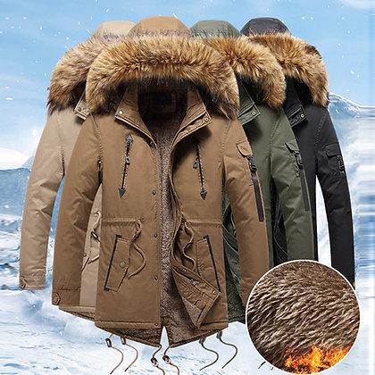 Men's Hooded Softshell Windproof Soft High Quality Coat