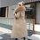 Thumbnail: Women's Down Parkas Long Hooded Coat W/ Adjustable Waist and Fur Collar