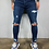 Thumbnail: Men's Denim Skinny Streetwear Biker Jeans