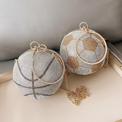 Luxury Basketball/Soccer Clutch Bag
