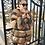 Thumbnail: Women's Real Silver Fox Fur Short Coat/Jacket