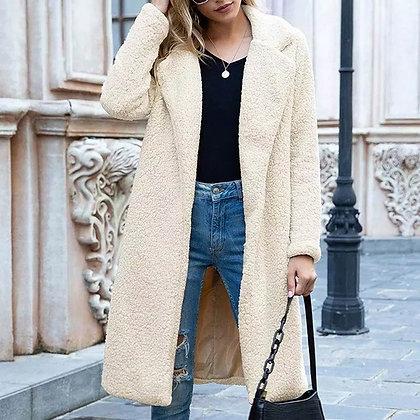 Women's Long Casual Coat Plush