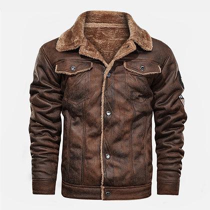 Men's Motorcycle Slim Fit Jacket