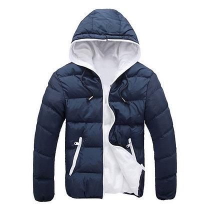 Laamei Men's Coat/Jacket W/ Hood