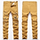 Thumbnail: Men's Ripped Stretch Destroyed Hip Hop Homme Masculino Design Slim Fit Jeans