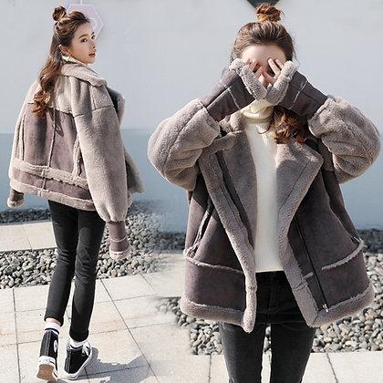 Women's Faux Lamb Coat/Jacket