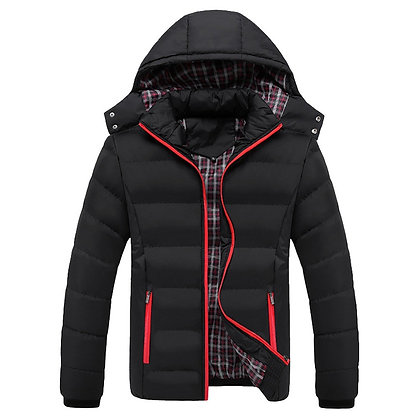 Men's High Quality 90% Cotton Thick Down Jacket