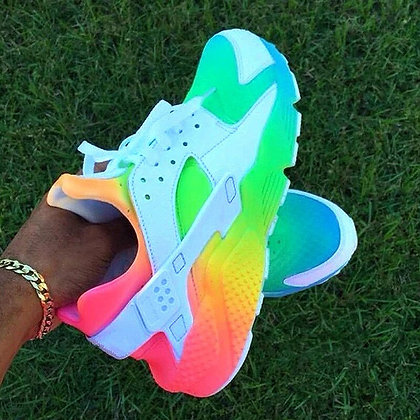 Women's Colorful Rainbow Sneakers
