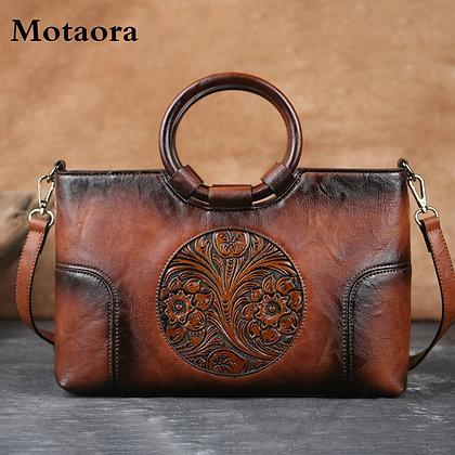 High Quality Leather Hand Bag