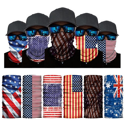 National Flags Face Bandana Masks