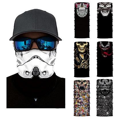 3D Seamless Face & Neck Masks
