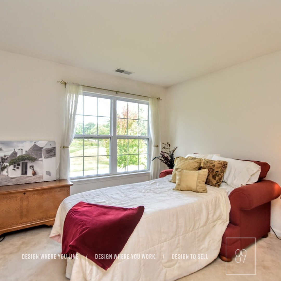 89th-St_Staging_Staged_Bedroom_Warm_Red_