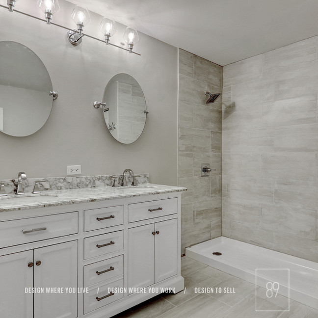 89th-St_Master_Bathroom_Luxe_Glam_Carrera-Marble_Hotel_Spa_Shower_Standup-Shower_Double-Va
