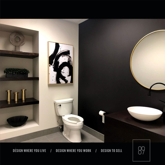 89th-St-Design-Client-N_Corporate_Bathroom_After_Accessories_Black_Brass_Gold_White_Modern