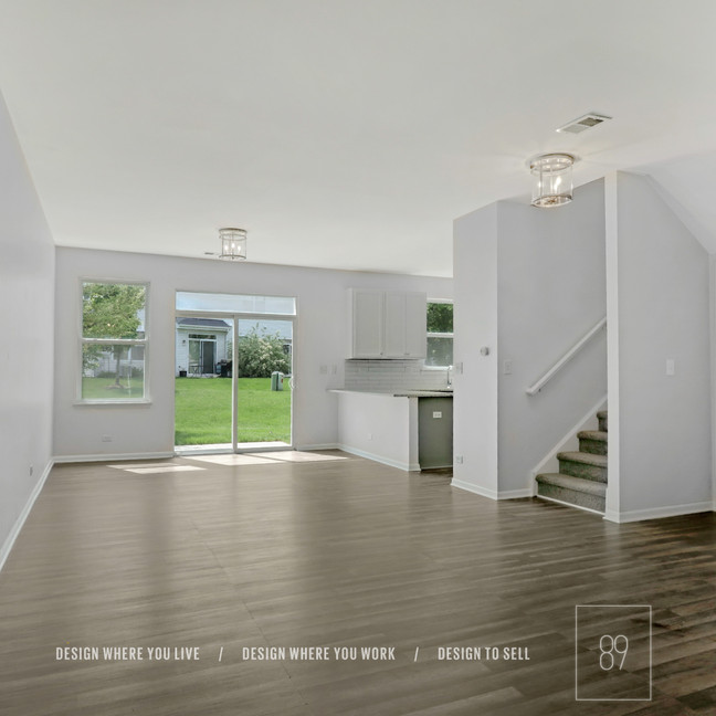 89th-St_Hallway_Living-Room_Dining-Room_Entry_Lighting_Luxe_Glam_Brushed-Nickel_White-Kitc
