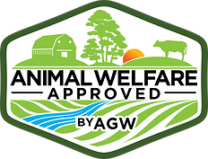 Animal Welfare Approved by AGW LOGO FINA