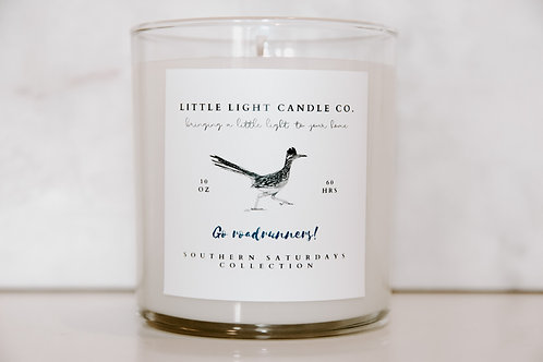Go Roadrunners Candle