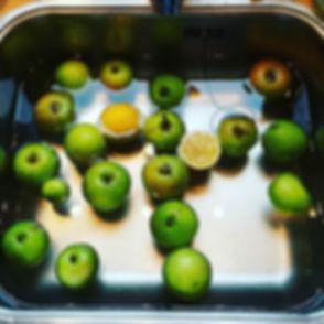 Ik maak #appelcitroengelei. Ook staat er