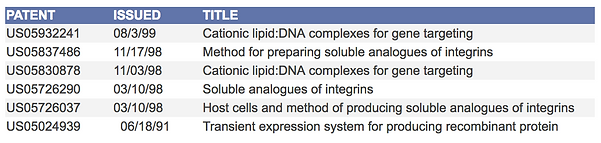 DNA Bridges Patents