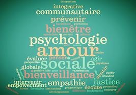 Nuage de mots psychologie