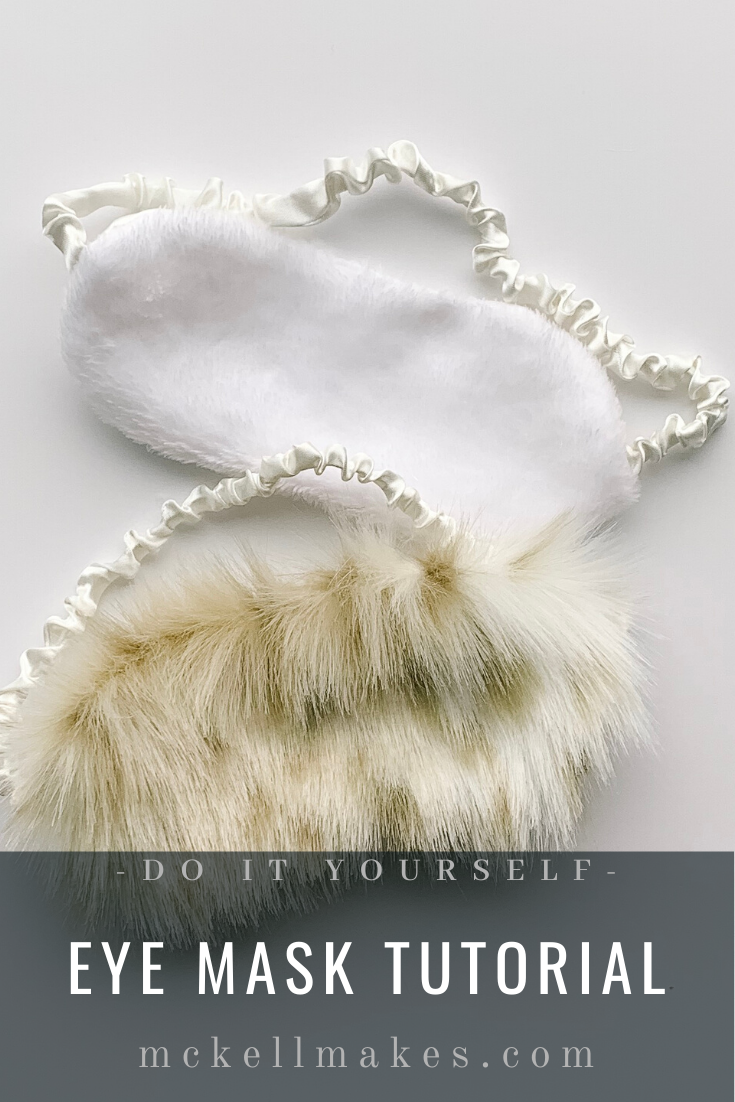 DIY Eye Mask Tutorial Step by Step Free Download