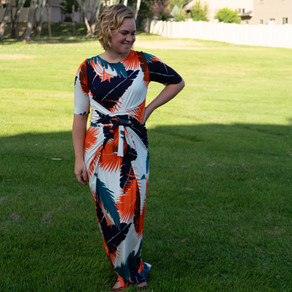 The Kielo Wrap Dress from Named Clothing