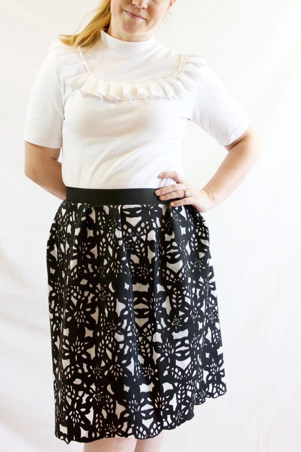 DIY Simple Skirt Instructions and Freya Sweater