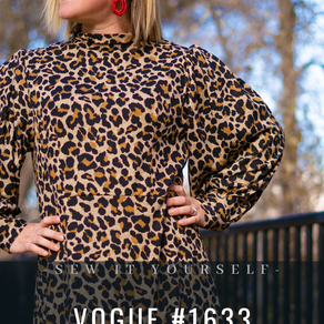 Vogue #1633 - Sew it Yourself