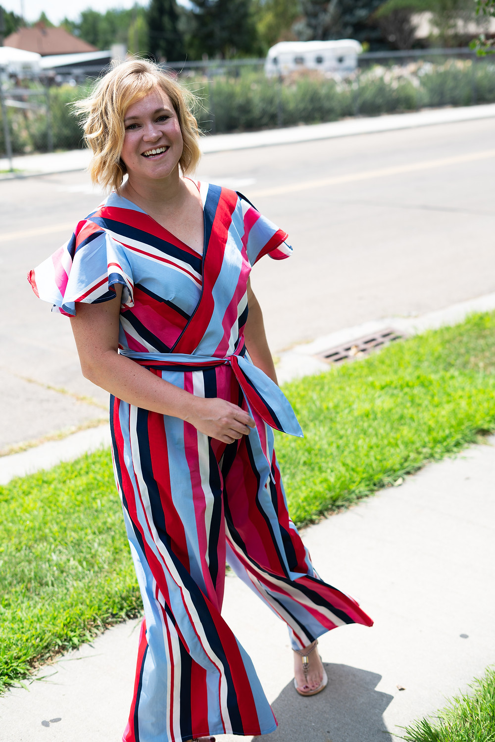 Pattern Mash-up! Simplicity #8608 and McCall's #7577