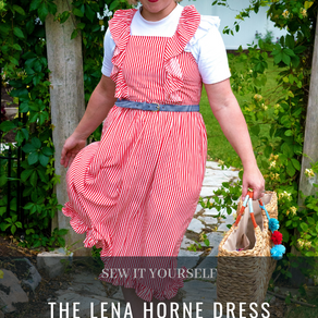 The Lena Horne Dress Pattern by Tabitha Sewer
