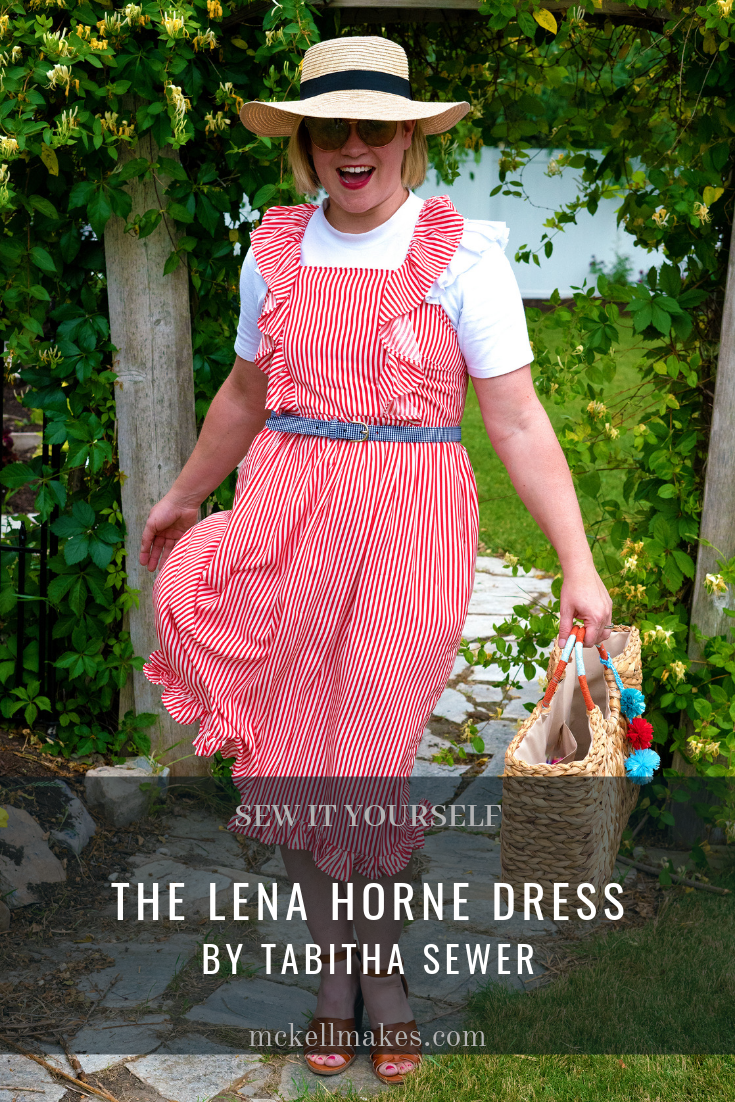 The Lena Horne Dress by Tabitha Sewer