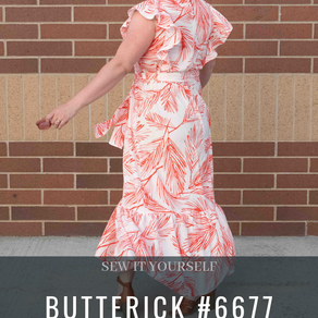 Butterick 6677 - One of my new favorite patterns