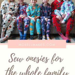Onesie Simplicity Pattern #8520 Sew Along