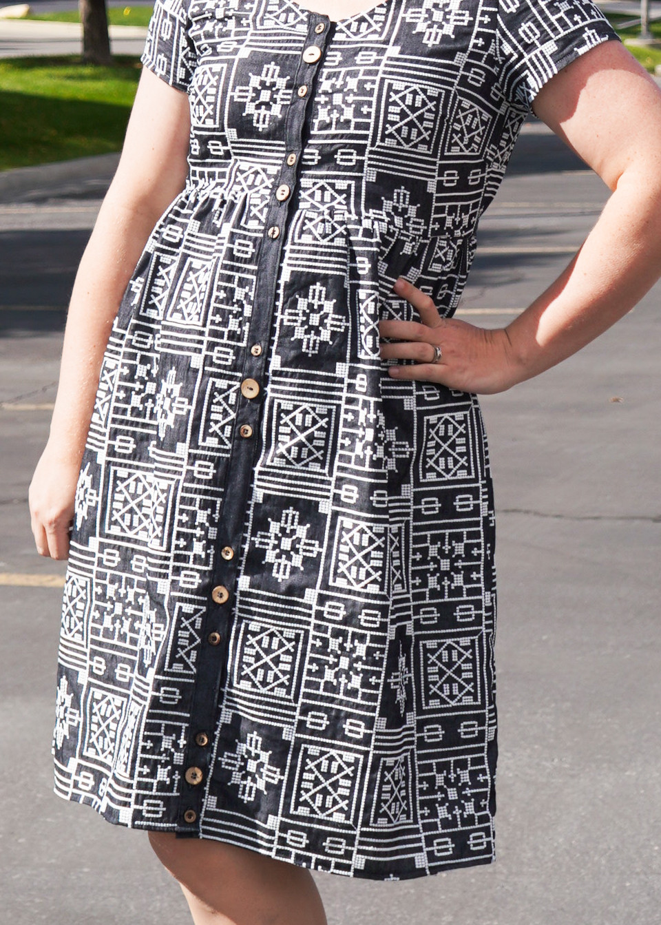 The Hinterland Dress by Sew Liberated