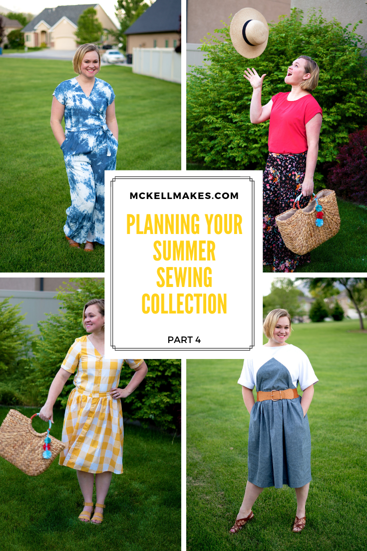 Planning your Summer Sewing Collection - Part 4