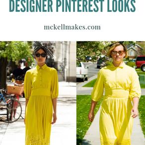 Recreating Your Favorite Pinterest Inspired Designer Looks