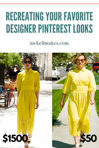 Recreating your favorite Designer Pinterest Inspired Looks for Less