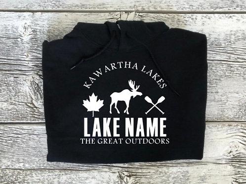 LakeName Zip-Up or Pullover Hoodie