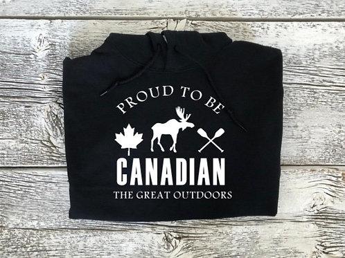 Canadian Zip-Up or Pullover Hoodie